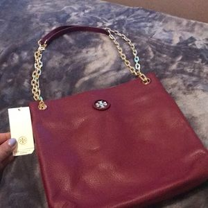 Authentic Tory Burch hand bag